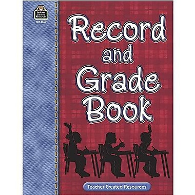 Teacher Created Resources® Record and Grade Book, Grades Pre School - 12th