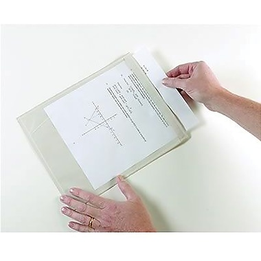 Ashley® Clear Self-Adhesive Document Pocket, 9 1/2in.(H) x 12in.(W)