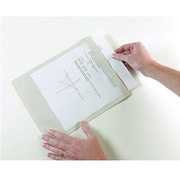 "Ashley® Clear Self-Adhesive Document Pocket, 9 1/2""(H) x 12""(W)"