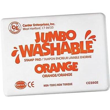 Center Enterprises® Jumbo Washable Stamp Pad, Orange