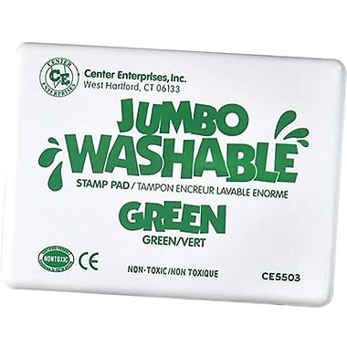 Center Enterprises® Jumbo Washable Stamp Pad, Green