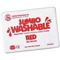 Center Enterprises® Jumbo Washable Stamp Pad, Red