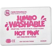Center Enterprises® Jumbo Washable Stamp Pad, Hot Pink