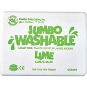 Center Enterprises® Jumbo Washable Stamp Pad, Lime Green
