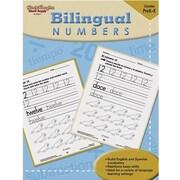 Harcourt Steck-Vaughn Bilingual Math Numbers Book, Grades Pre School - K
