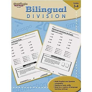 Harcourt Steck-Vaughn Bilingual Math Division Book, Grades 3rd - 4th