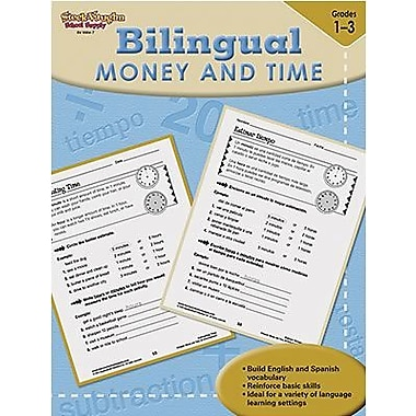 Harcourt Steck-Vaughn Bilingual Math Money and Time Book, Grades 1st - 3rd