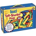 Lauri® Toys Tall Stacker™ Pegs Only, Set of 50