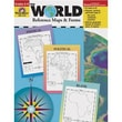 Evan-Moor® The World Reference Maps and Forms Resource Book, Grades 3rd - 6th