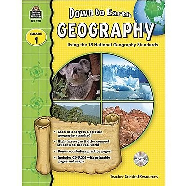 Teacher Created Resources® Down To Earth Geography Book, Grades 1st