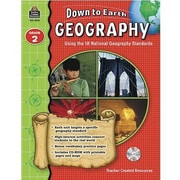 Teacher Created Resources® Down To Earth Geography Book, Grades 2nd
