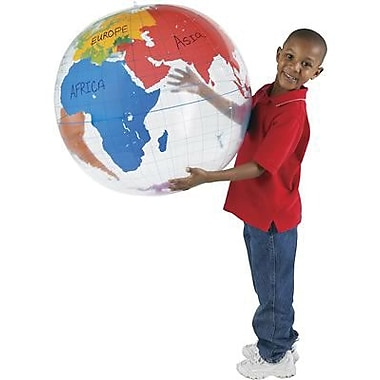 Learning Resources® Inflatable Labeling Globe, Grades Kindergarten+