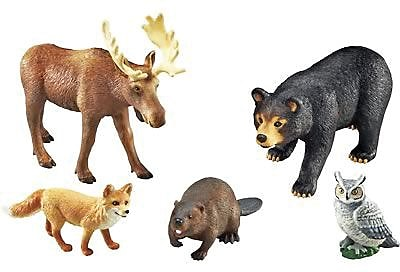 Learning Resources Jumbo Forest Animals 846688