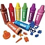 Learning Resources® Rainbow Sorting Crayons, Grades Pre-School -