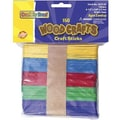 Chenille Craft® Bright Wooden Craft Sticks, 150 Pieces
