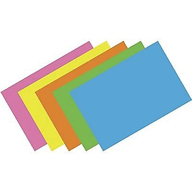 Top Notch Teacher Products® Brite Assorted Blank Index Card, 4in. x 6in.