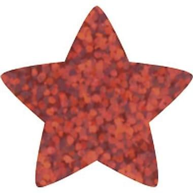 Trend Enterprises® SuperShapes Chart Seal, Red Sparkle Star