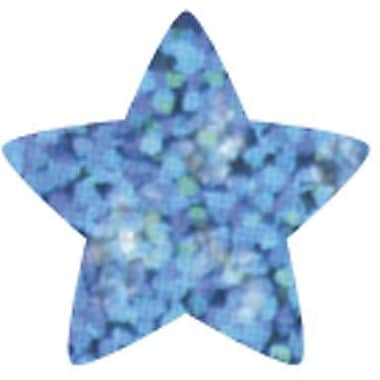 Trend Enterprises® SuperShapes Chart Seal, Blue Sparkle Star