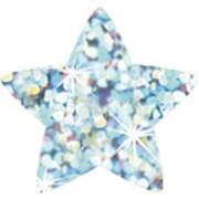 Trend Enterprises® SuperShapes Chart Seal, Silver Sparkle Star