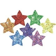Trend Enterprises® SuperShapes Chart Seal, Assorted Sparkle Colorful Star