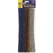 Chenille Craft® Sparkle Stems, 100 Pieces