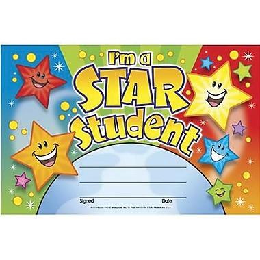 Trend Enterprises® Recognition Awards, I'm A Star Student