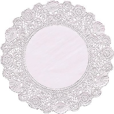 Hygloss® Round Paper Lace Doilies, P - 12, 4in.