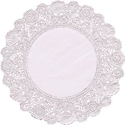 Hygloss® P - 12 Round Paper Lace Doilies