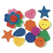 Roylco® Bright Buttons, 1/2 lbs.