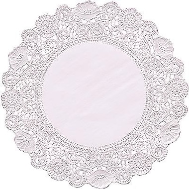 Hygloss® Round Paper Lace Doilies, P - 12, 6in.