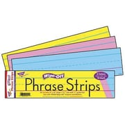 "Trend Enterprises® Multi Color Wipe-Off Sentence Strip, 12""(L) x 3""(W)"