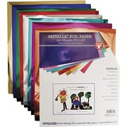 Hygloss® 10 x 8 1/2 Metallic Foil Paper
