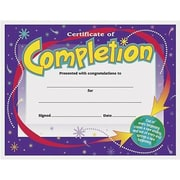 "Trend Enterprises® Certificate of Completion, 8 1/2""(L) x 11""(W)"