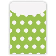Top Notch Teacher Products® Peel and Stick Polka Dots Pocket, Green