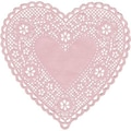 Hygloss® 6in. Heart Paper Lace Doilies