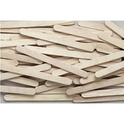 Chenille Craft® Natural Wooden Craft Stick, 1000 Pieces/Pack