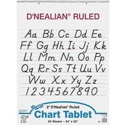 Pacon® D'Nealian™ Manuscript Cover Chart Pad, Ruled