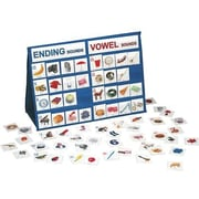 Smethport Ending Sounds and Vowel Sounds Tabletop Pocket Chart