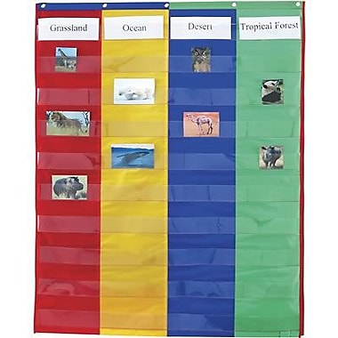 Learning Resources® 2 and 4 Column Double-Sided Pocket Chart