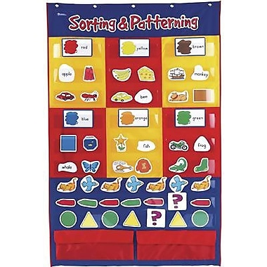 Learning Resources® Sorting and Patterning Pocket Chart