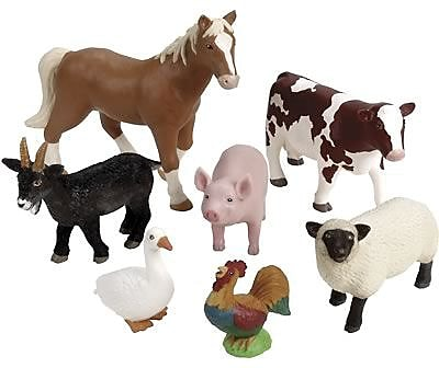 Learning Resources Jumbo Farm Animals 847460