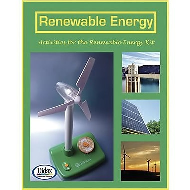 Didax® Renewable Energy Activity Book, Grades Pre School - 12th