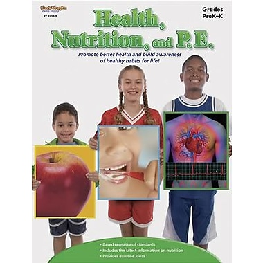 Harcourt® Health Nutrition and P.E. Book, Grades Pre School - Kindergarten