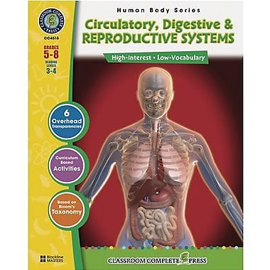 Classroom Complete Press® Circulatory and Reproductive Systems Book, Grades 5th - 8th