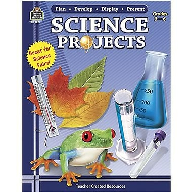 Teacher Created Resources® Science Project Book By Plan-Develop-Display, Grades 3rd - 6th