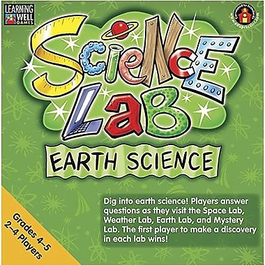 Edupress® ™ Earth Science Lab Game By Learning Well®, Grades 4th - 5th