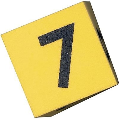 Koplow Games 2in. Numeral Foam Dice