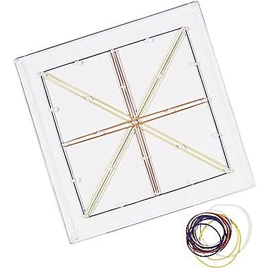 Learning Resources® Transparent Geoboard, Plastic