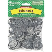 Learning Advantage Money Nickles Pack, 100/Pack