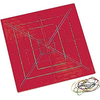 Learning Resources® Transparent Geoboard, 11 x 11-Pin